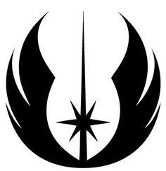 Jedi Order Symbol Die-Cut Decal Car Window by BeeMountainGraphics