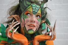 Entry 10 to the Gibraltar face and body painting festival 2014 - full body paint competition 3rd place winner