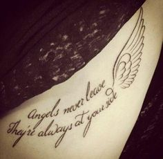 Angels never leave, They're always at your side ♡
