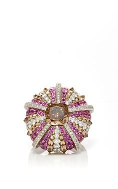 Sea Urchin Ring by LORENZ BAUMER for Preorder on Moda Operandi