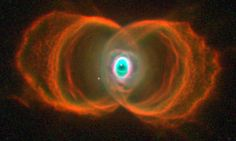 Eye in the sky: Time nearly up for Hourglass Nebula as it runs out of nuclear fuel