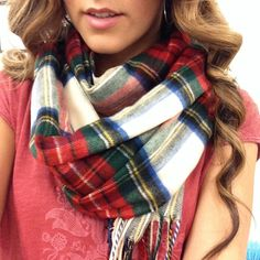 "Selling this ""Tartan Scarf"" in my Poshmark closet! My username is: maria."