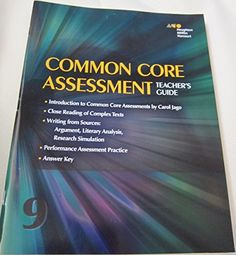 Houghton Mifflin Harcourt Collections: Common Core Assessment Teacher's Guide Grade 9 by HOLT MCDOUGAL