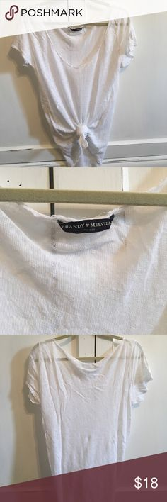 Brandy Melville T shirt In new condition. One size Brandy Melville Tops Tees - Short Sleeve