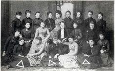 Delta Delta Delta was founded by four young women at Boston University on November 27, 1888. #deltadeltadelta #tridelta #sororityhistory