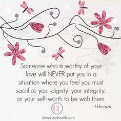 Never sacrifice. ..