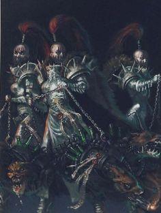 Pursuer Cadre - Sisters of Silence Warhammer 40k Art, Warhammer Fantasy, Sisters Of Silence, Legio Custodes, 40k Sisters Of Battle, The Horus Heresy, Grey Knights, Dark Eldar, Dark Fantasy Art