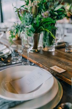 Wedding receptions and ceremonies are delightful moments at the Tailrace Centre. Lush, Centre, In This Moment, Table Decorations, Green, Style, Swag, Outfits, Dinner Table Decorations