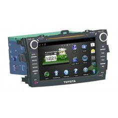 Multimedia Player Car A/V System Stereo Radio Upgrade for Toyota Corolla with Android System 3G Wifi GPS DVD Bluetooth-1