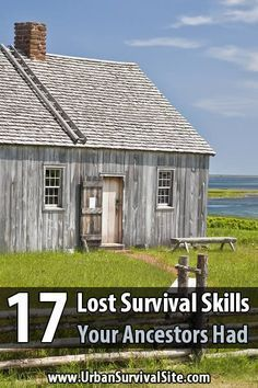 The modern world has made life so easy that there's no need to learn lost survival skills. But if we face a big enough disaster, that will change fast.