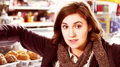 Lena Dunham, the creator of HBO's Girls.    A ground-breaking and honest comedy that follows the lives of 20-somethings in New York City.