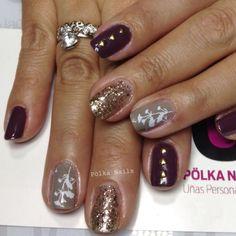 Brown Nails #nails