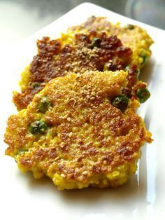 Millet croquettes in the Indian Croquettes de mil+ Veggie Recipes, Indian Food Recipes, New Recipes, Healthy Recipes, Ethnic Recipes, Healthy Food, Healthy Eating, Beignets, Millet Recipe Indian