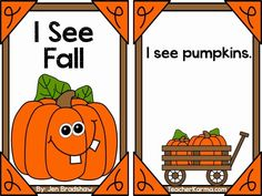 Free Fall readers about pumpkins.
