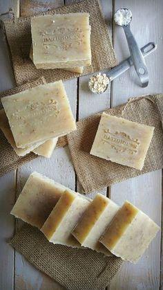 Soap Making Recipes, Homemade Soap Recipes, Sugar Scrub Diy, Diy Scrub, Oatmeal Soap, Soap Packaging, Goat Milk Soap, Cold Process Soap, Home Made Soap