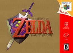 Ocarina of Time Nintendo 64 cover It's 2013 and I just got a Nintendo 64 again so I can play this love this game