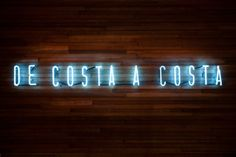 Costa Nueva restaurant branding by Savvy Studio Vida Restaurant, Restaurant Branding, Restaurant Design, Seafood Restaurant, Industrial Chic Style, Industrial Interiors, Rustic Chic, Costa, Cute Cafe