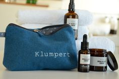 "The proper necessaire for your skin care products. PS: ""Klumpert"" means…"