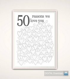 50th Birthday Gift for Men 50th Anniversary Gifts 50th