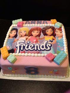lego friends taart Lego Friends taart | dorty | Pinterest | Lego, Lego friends party  lego friends taart