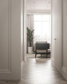 Apartment in Copenhagen on Behance Luxury Apartments, Luxury Homes, Copenhagen Apartment, Modern Interior, Interior Design, Living Room Interior, Luxury Living, Adobe Photoshop, Luxury Furniture