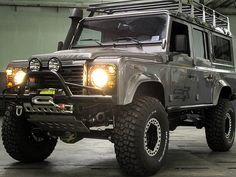 lifted Defender 110