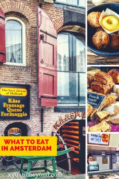 Traditional Dutch Food | What to eat in Amsterdam when you are a foodie #Netherlands #Dutchcheese #Dutchfood #foodinAmsterdam #eatingAmsterdam via @https://www.pinterest.com/xyuandbeyond/