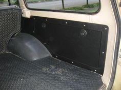 Storage compartment. i need to make this in my xj