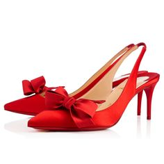 Christian Louboutin United States Official Online Boutique - Yasling 70  Flamenco Crepe satin Satin Lurex available online. Discover more Women  Shoes by ... 00938c2b8401a