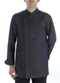Chaqueta oriental gris #chaquetascocinero #cocina #csty #uniformeshosteleria