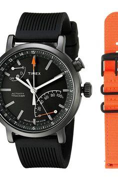 Timex Metropolitan+ Gift Set (Black) Watches - Timex, Metropolitan+ Gift Set, TWG012600ZA, Jewelry Watches General, Watches, Watches, Jewelry, Gift - Outfit Ideas And Street Style 2017