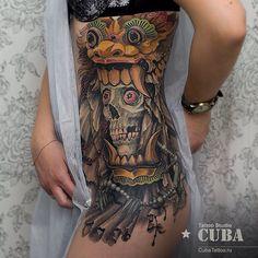 Done by Karina Cuba, tattooist at Cuba Tattoo Studio (Omsk), Russia TattooStage.com - Rate & review your tattoo artist. #tattoo #tattoos #ink