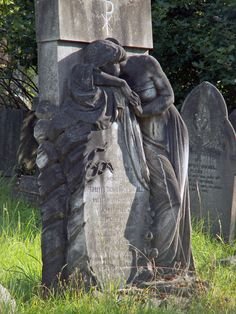 Hampstead Cemetery Weeping Woman | Hampstead cemetery, Fortu… | Flickr - Photo Sharing!