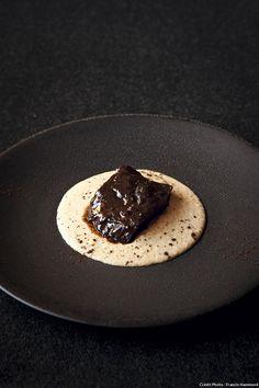 Beef Cheek on polenta with coffee jous | Emmanuel Reanut