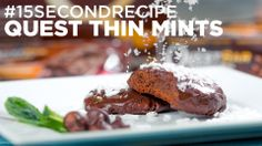 WATCH: Quest Thin Mints #15SecondRecipe. Recipe from Erin Woodbury. #CheatClean #OnaQuest