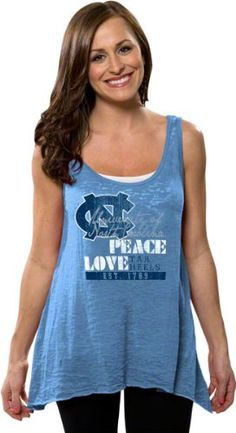 North Carolina Tar Heels Women's Carolina Blue « Shirt Add