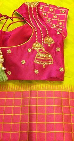 jhumka embroidery
