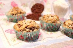 Coconut bread façon muffins
