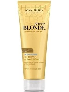 John Frieda Sheer Blonde Highlight Activating Moisturising Shampoo Lighter 250 ml hakkında kapsamlı bilgilere bu sayfadan ulaşarak bilgi sahibi olabilirsiniz.