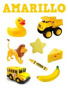 Teaching Spanish, Teaching Kids, Yellow Theme, Baby Learning, Color Activities, Learning Colors, Kids Education, Pre School, Childcare