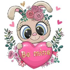 Cute Cartoon Drawings, Cute Cartoon Girl, Cute Cartoon Animals, Kitten Cartoon, Cartoon Panda, Cartoon Rabbit, Cartoon Heart, Rabbit Vector, Owl Vector
