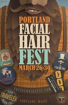 Facial Hair Fun in Portland, Maine http://facialhairfest.com/