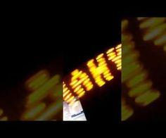 ATtiny13 8 LED POV
