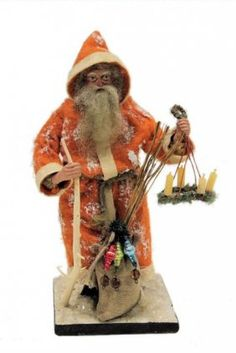Rare German Belsnickle Carrying Advent Wreath : Lot 6