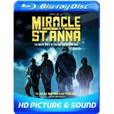 Miracle at St Anna [Blu-ray] Derek Luke (Actor), Michael Ealy (Actor), Spike Lee (Director) Michael Ealy, Miracle At St Anna, Spike Lee Movies, Laz Alonso, Derek Luke, John Turturro, War Film, Chick Flicks, Now And Then Movie
