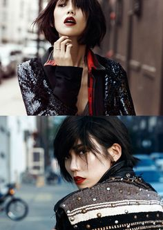 Tao Okamoto by Lachlan Bailey for <em>Vogue China</em> August 2011