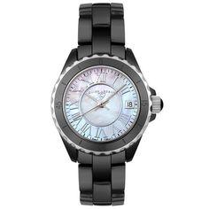 84% Discount#Best women watch#Swiss Legend Women's 20050-BKWSR Karamica Collection Ceramic Watch | Skeleton Watches