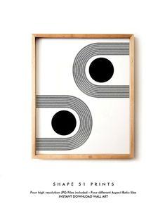 Woodblock Style Printable Art Scandinavian Style Minimalist Geometric Poster Contemporary Art Bohemian Mid Century Art Black and white art Hanging Wall Art, Diy Wall Art, Home Decor Wall Art, Canvas Wall Art, Geometric Poster, Abstract Posters, Abstract Portrait, Portrait Paintings, Geometric Wall