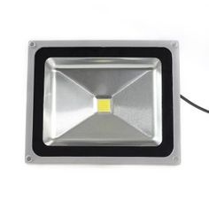 LED Spotlight Flood Light High Power Outdoor Wall Cool White by Loftek Outdoor Flood Lights, Led Flood Lights, Bollard Lighting, Deck Lighting, Exterior Lighting, Led Step Lights, Solar Lights, Fence Post Caps, Fence Panels