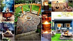 Plan Your Backyard Landscaping Design Ahead With These 35 Smart DIY Fire Pit Projects And Make Sure That You`ll Have The Best Summer Ever.